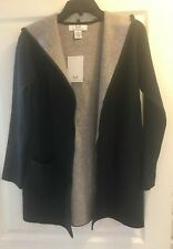 Magaschoni Black Hooded Cardigan New  Size XS