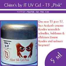 T3 Fiber/Silk UV Gel pink1 Phasen UV Gel Weltmeisterqualität Top Markenware