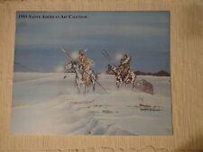 1995 native american indian art calendar doc Tate Nevaqliaya art prints and more