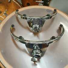 "Pair of 12""+13"" free floating tom mounts for 6-lug drums"