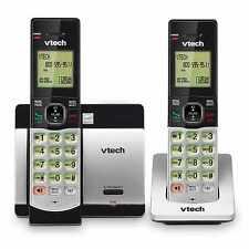 New! Vtech Cs5119-2 Dect 6.0 Cordless Phone (2 Handset, Caller Id, Call Waiting)