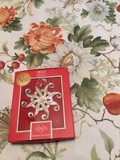 Lenox 2013 Snow Majesty Ornament