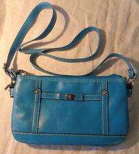Rossetti Cross Body Shoulder Bag Purse Ice Blue