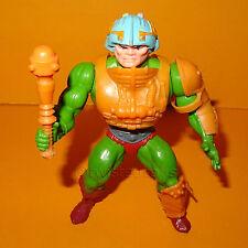 VINTAGE 1981 80s Mattel MOTU HE-MAN (Heman) Man-At-Arms Action Figure COMPLETO