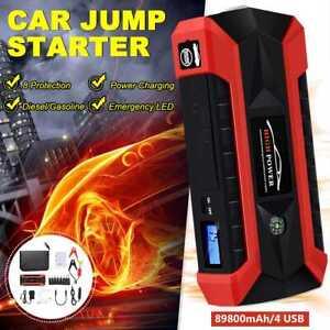 Auto Starthilife Powerbank 89800mAh 1000A KFZ Ladegerät Booster Starthilfegerät