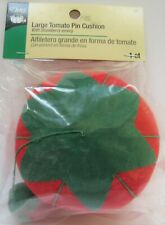 Dritz  Large Tomato Pin Cushion with Strawberry Emery