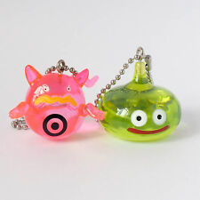 Square Enix SQEX Toy Dragon Quest Crystal Monsters Slime Green Keychain Set of 2
