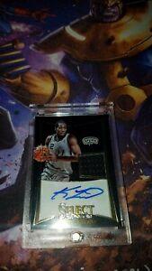 2012 Panini Select #250 Kawhi Leonard RC Rookie Jersey Autograph 54 of 249