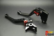 CNC court Réglable Levier frein+embrayage Pr Honda CBR 600 RR F5 03-06 04 05 Noi