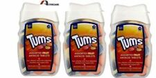 3x Tums Assorted Fruit Antacid -75 Tablets Relief from Indigestion and Heartburn