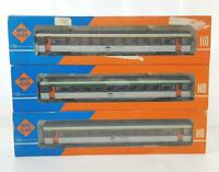ROCO 4275 4299 HO GAUGE - FRENCH SNCF CORAIL LIVERY EXPRESS PASSENGER COACH SET