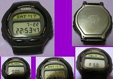 VINTAGE //  MONTRE BRACELET HOMME CASIO LCD //  TELEMEMO 50