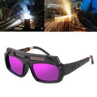 Solarbetriebene automatische Verdunkelung Schweißmaske Helm Augen Brille Schweiß