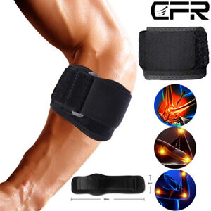 Tennis Elbow Brace Strap Tendonitis Golfers Band Golf Pain Relief Pad Support US