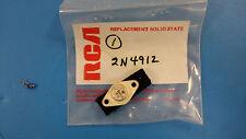 (1 PC) 2N4912 MOTOROLA Trans GP BJT NPN 80V 1A 3-Pin(2+Tab) TO-66