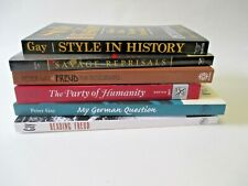 LOT Peter Gay Style in History Savage Reprisals Party of Humanity Freud 6 PBs