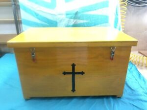 Storage Box Chest  Wooden Box Camiping FCF Royal Rangers