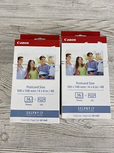Genuine CANON SELPHY CP COLOR INK and PAPER SET KP-361P /r
