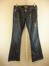 NWT $230 william rast madison vintage flare trouser blue jeans womens sz 28 X 35