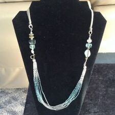 Silpada .925 Sterling Silver Labradorite Chalcedony Fluorite Necklace N2069 $109