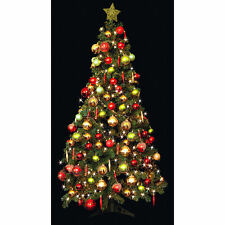 New Deluxe Green Christmas Decoration Tree - 6ft