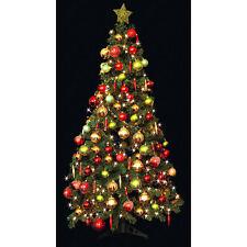 Nuevo Verde árbol De Navidad Decoración De Lujo - 6ft
