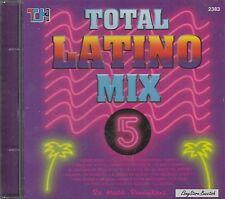 Total Latino Mix 5 Latino Merengue Mix Latino Salsa Mix CD New Nuevo  Sealed