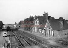 PHOTO  MARTON RAILWAY STATION VIEW FROM BRIDGE OF THE STATION LOOKING TOWARDS RU