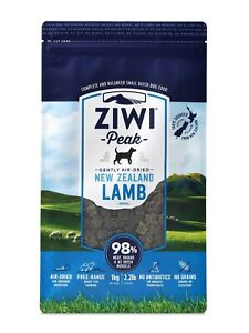 Ziwi Peak Air Dried Dog Food 1kg Lamb - Made in New Zealand
