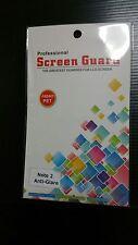 Note 2 Anti-Glare Matte Matt Screen Protector with cloth