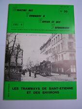 Magazine tramways vapeur secondaires 1981 20 Saint-Etienne et environs