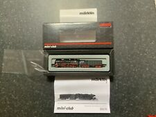 Marklin spur z scale/gauge. Heavy Freight Locomotive & Condensation Tender. New.