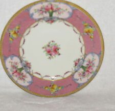 Royal Worcester Pink Panels Swags Roses Plate(s) 7 3/4""