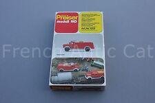 U628 PREISER maquette Ho pompier véhicule incendie ZB 6/24 magirus F200 D16A