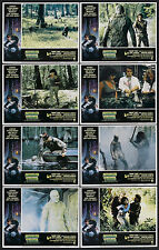 SWAMP THING original lobby card set ADRIENNE BARBEAU/LOUIS JOURDAN/WES CRAVEN