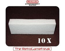 ■■■ Nintendo 8 bit / NES : 10 x Styrofoam Inlay for Complete NES Games ■■■