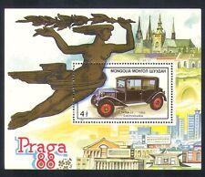 Mongolia 1988 Classic Cars/Tatra/Motoring/Transport/StampEx 1v m/s (n34229)