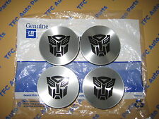 4 Chevy Chevrolet Wheel Center Cap Transformers Edition Genuine OEM GM New