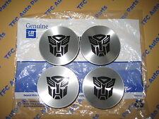 4 Chevy Chevrolet Wheel Center Cap Transformers Edition Genuine OEM GM New