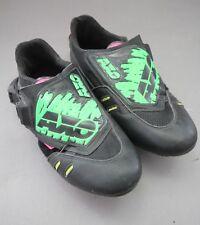 AXO Favaro Design Sport Bike Bicycle Shoe Look / Sz. 42 / Vintage 1990ies Neon
