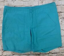 Gap Hadley Green Teal Women's Casual Summer Shorts Size 6 Small Cute