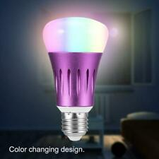E14 7W WIFI Smart Light Bulb Wireless Dimmable RGB LED Lamp Home Party Decor