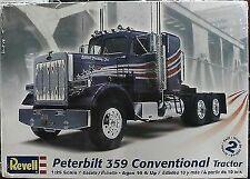 Chrome Bumper Peterbilt 359 Big Rig Tractor Semi Revell 1 25 Model Truck Kit