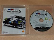 Gran Turismo 5 Academy Edition PS3 Playstation 3 (No Cover) **FREE UK POSTAGE**