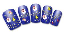Nailart stickers autocollants ongles scrapbooking décorations de Noël sapins
