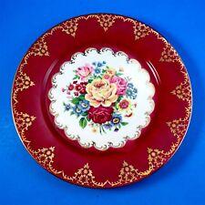 Striking Floral Bouquet Gloria Fine Porcelain West Germany Dinner Plate