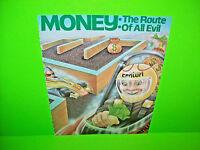 Centuri ROUTE 16 Original 1981 Vintage Video Arcade Game Promo Sales Flyer