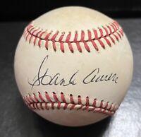 Hank Aaron Signed Autograph ONL Giamatti Baseball Atlanta Braves JSA LOA READ