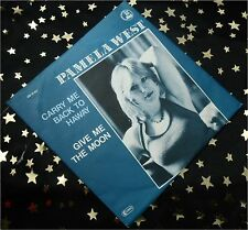 PAMELA WEST - Carry me back to Haway * 198? * TOP SINGLE (M-:))