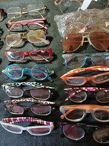 Huge lot of reading glasses. Different magnifications. 38 in total.